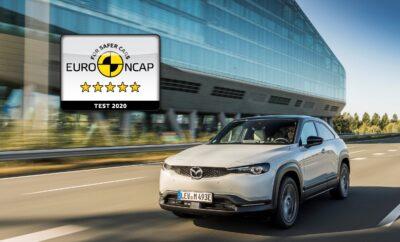 Το Mazda MX-301 επιτυγχάνει βαθμολογία 5 αστέρων στις δοκιμές του Euro NCAP